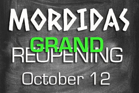 mordidas reopening party